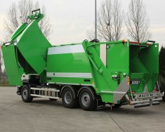Śmieciarka NTM KG-2B-FK
