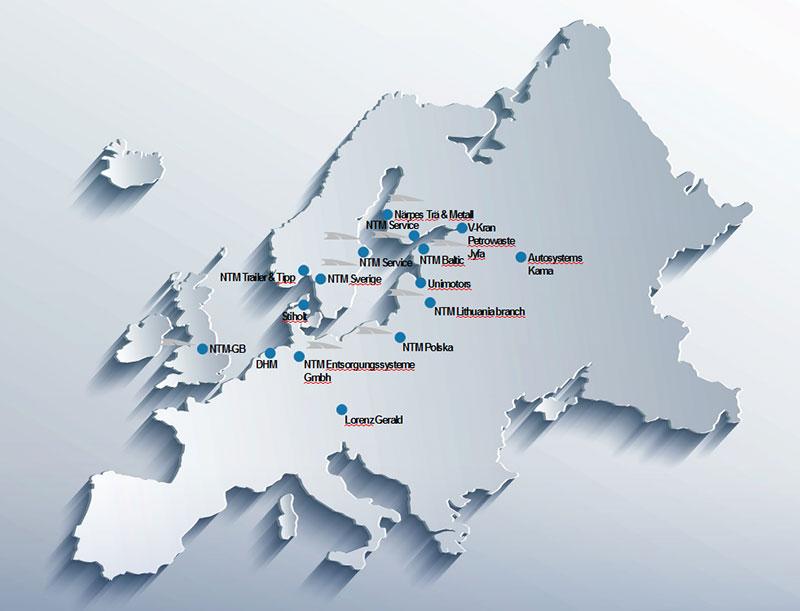 Sieć NTM Europa