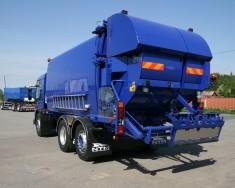Śmieciarka NTM model Quatro