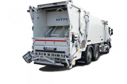Nowa śmieciarka testowa NTM