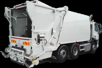Śmieciarka testowa NTM model KGHH dostępna od ręki.