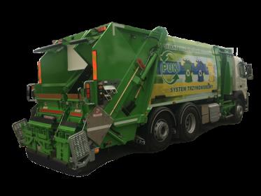 Kolejna śmieciarka trzykomorowa dla PUK w Kaliszu.